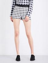 Rag & Bone Carson high-rise cotton-blend shorts