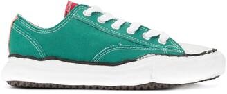 Maison Mihara Yasuhiro Contrast Lace-Up Sneakers