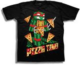Freeze Black TMNT 'Pizza Time' Tee - Boys