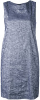 Theory sleeveless dress - women - Cotton/Linen/Flax/Spandex/Elastane/Viscose - 8