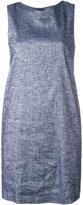 Theory sleeveless dress - women - Cotton/Linen/Flax/Viscose/Spandex/Elastane - 8