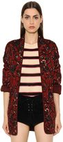 Etoile Isabel Marant Quilted Printed Brushed Cotton Jacket