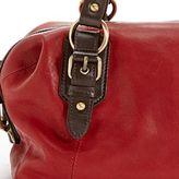 Lucky Brand Buckman Satchel Haute Red