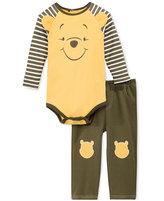 Nannette Baby Boys' 2-Pc. Winnie the Pooh Bodysuit & Pants Set