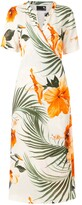 Thumbnail for your product : OSKLEN tie Hibisco light dress