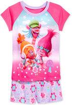 Trolls by DreamWorks 2-Pc. Pajama Set, Little Girls (2-6X) & Big Girls (7-16)