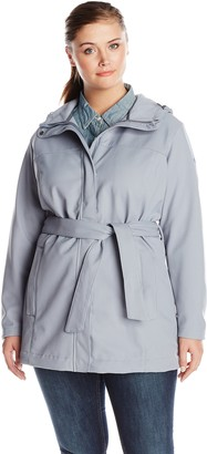 Columbia Women's Plus-Size Take To The Streets Trench Plus