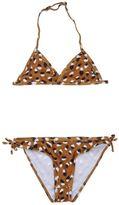"Molo ""Novanell"" Leo Print Lycra Bikini"