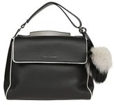 Orciani Women's Black Leather Shoulder Bag.
