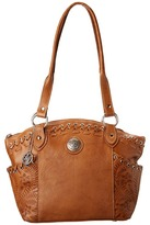 American West Harvest Moon Bucket Tote Tote Handbags