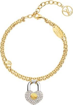 Louis Vuitton Crazy In Lock Strass Supple Bracelet