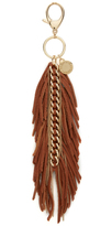 Rebecca Minkoff Feather Chain Key Fob