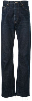 Helmut Lang Pre Owned 1996 Ring jeans