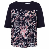 Versace Navy Baroque Shirt