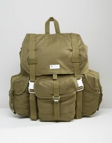 adidas Large Backpack In Green AY8677