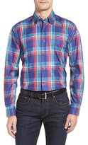 Robert Talbott Men's Anderson Classic Fit Madras Plaid Sport Shirt