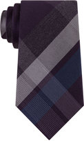 Kenneth Cole Reaction Men's Glacier Plaid Slim Tie