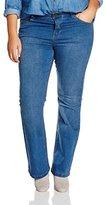 Evans Women's Midwash Bootcut Jeans