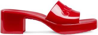 Gucci Women's slide sandal with logo