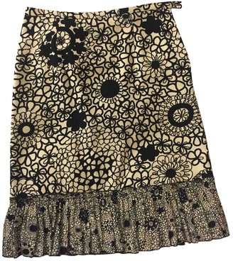 Moschino Cheap & Chic Moschino Cheap And Chic Black Cotton Skirt for Women