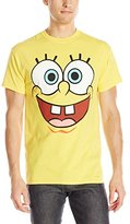 Nickelodeon SpongeBob Squarepants Men's Face Logo T-Shirt