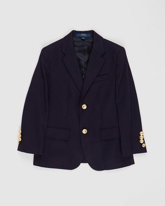 Polo Ralph Lauren Wool Brass-Button Sport Coat - Kids