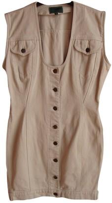 BEIGE Gaultier Junior \N Denim - Jeans Dresses