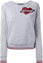 Philipp Plein heart sweatshirt