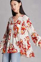 Forever 21 RD & Koko Floral Print Tunic