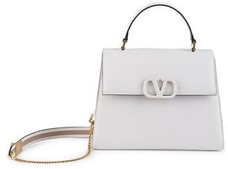 Valentino VSling Leather Top Handle Bag