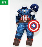 Marvel Captain America Fancy Dress Costume - 3-4 Years