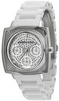 BCBGeneration BCBG MAXAZRIA Women BG8229 Elite Sport Tone White Rubber Watch
