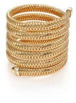 Roberto Coin Primavera Diamond & 18K Yellow Gold Six-Row Wrap Bracelet