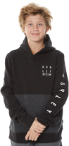 Hurley Boys Tidal Pop Fleece Hoodie Black