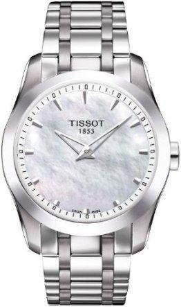 Tissot Women's Quartz Watch T035.246.11.111.00 with Metal Strap
