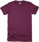 American Apparel Unisex Tri-blend Short Sleeve Track T-Shirt (M)