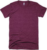 American Apparel Unisex Tri-blend Short Sleeve Track T-Shirt (S) (Tri-Coffee)