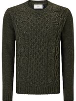 John Lewis Frosty Cable Crew Neck Jumper