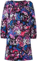 Marc Jacobs printed boat-neck dress - women - Cotton/Spandex/Elastane - 6