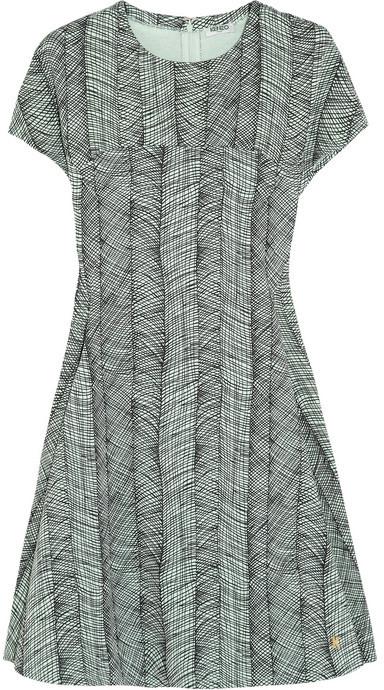 Kenzo Printed cotton-jersey mini dress