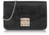 Furla Onyx Metropolis Small Leather Shoulder Bag