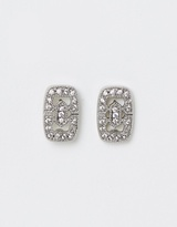 Samantha Wills SW Bridal - Femme Fatale Square Stud Earrings