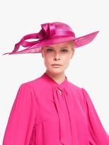John Lewis & Partners Amelie Loop Disc Occasion Hat, Magenta