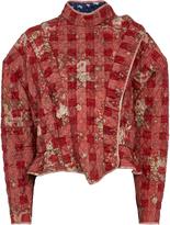 Vivienne Westwood W.W. Fencing Jacket Red Old Roses Size I