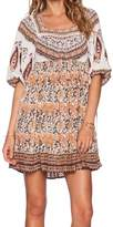Free People Multi Print Dress