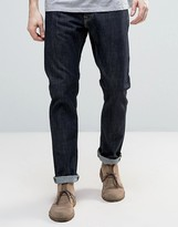 Edwin ED-55 Regular Tapered Jeans Rinsed Wash