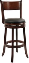 Boraam 43129 Palmetto Swivel Stool, 29-Inch