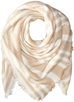 BCBGeneration Striped Square Scarf