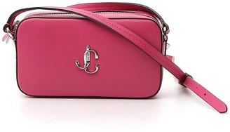 Jimmy Choo Hale Logo Crossbody Bag