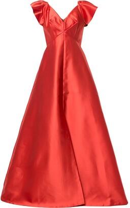 Sachin + Babi Isla empire line gown
